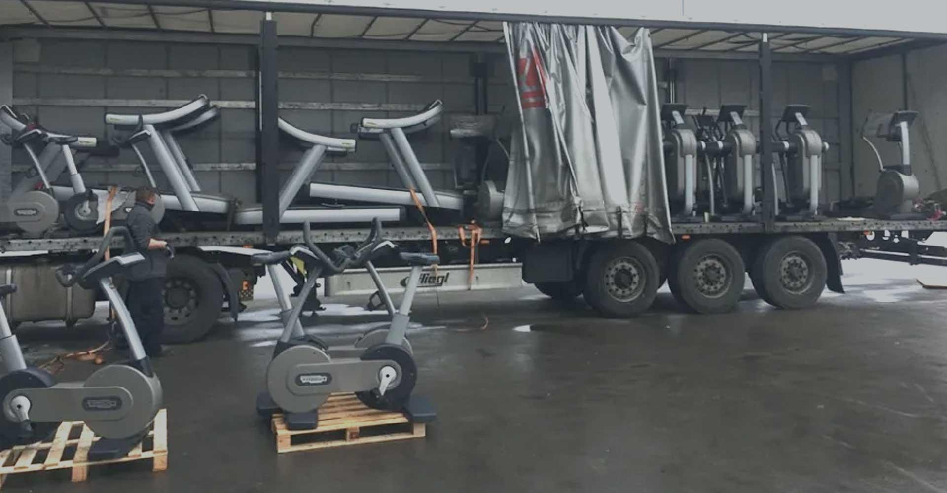 Gym Equipment Logistics