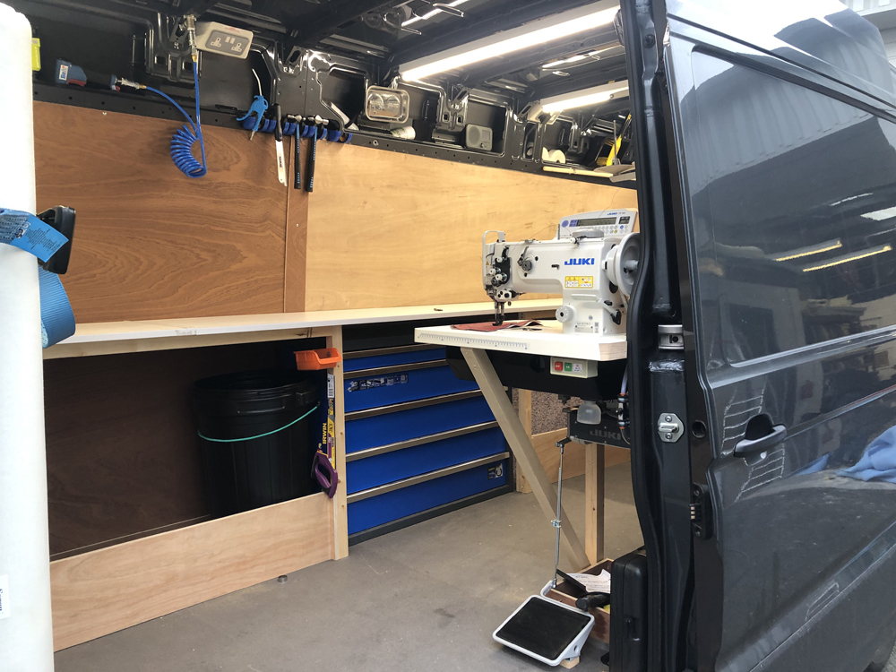 Mobile Workshop Interior